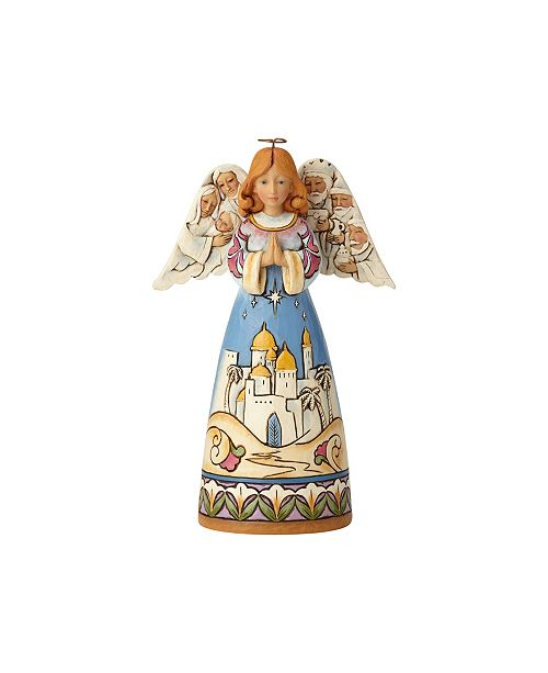 Enesco Angel with Nativity