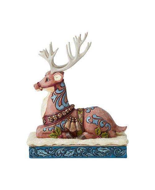 Enesco Victorian Reindeer Laying Down