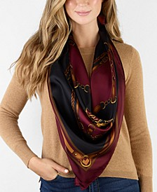 Abby Silk Square Scarf