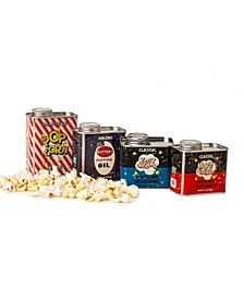 Metal Popcorn Tin Collection