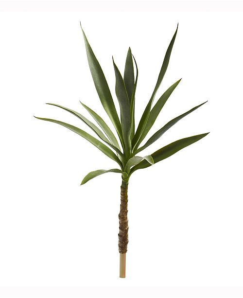 Nearly Natural 33in. Yucca Head Artificial Plant Set of 2