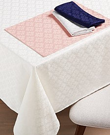 New York Spade Flower Table Linens Collection