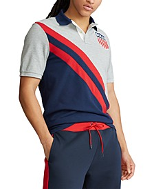 Men's Classic Fit Shield Polo Shirt