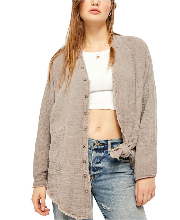 Free People - Summer Daydream Button Down Top
