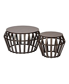 Solana 2pc Accent Table Set