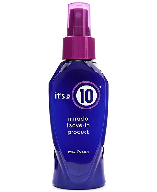 It's A 10 Miracle Leave-In For Blondes, 4-oz., from PUREBEAUTY Salon & Spa