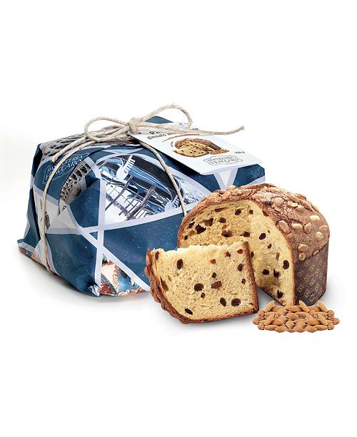PASTICCERIA FRACCARO - Panettone with Almonds 750G - Hand Wrapped Line