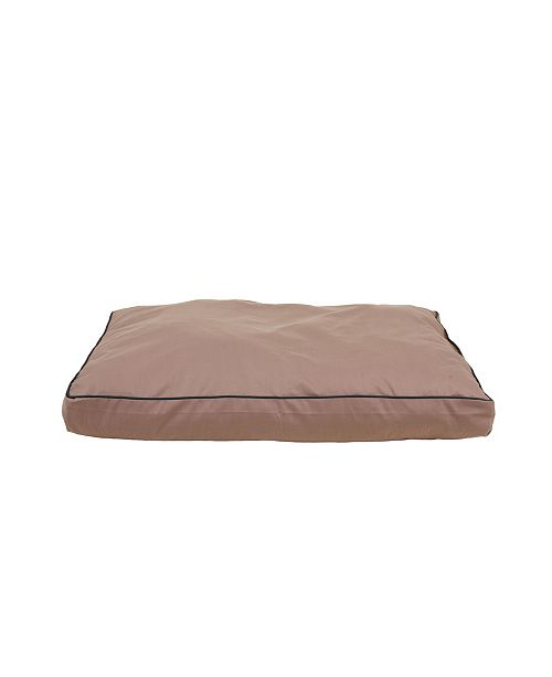Carolina Pet Company  Solid Faux Gusset Jamison Indoor/Outdoor Dog Bed Collection