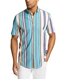 Men's Stripe Shirt, Created for Macy's