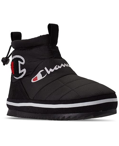 Champion Boys Rally Bootie Winter Boots from Finish Line