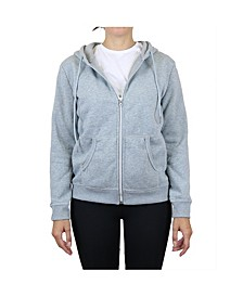 Women's Fleece-Lined Zip Hoodie