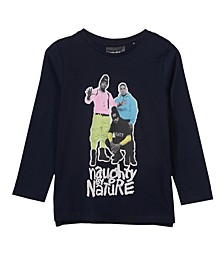 Little, Big and Toddler Girl's Lux Long Sleeve Tee