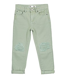 Little, Big and Toddler Girl's India Slouch Jean