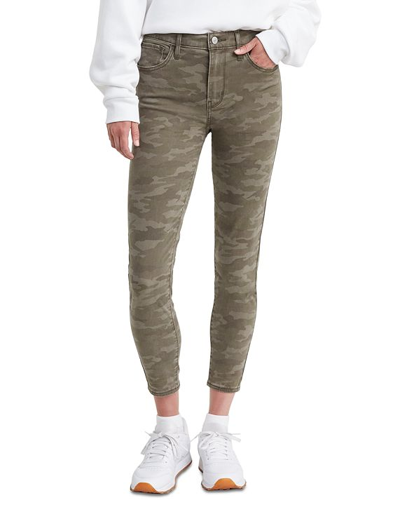 Levi's Women's 720 Cropped Super-Skinny Jeans
