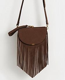 Fringe Bovine Leather Bag