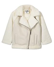 Little, Big and Toddler Girl's Olivia Biker Jacket