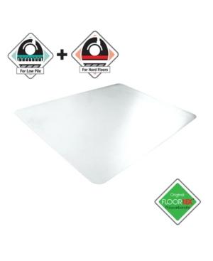Floortex Cleartex Anti-Slip Unomat Rectangular Chair Mat Bedding