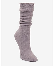 Super Soft Slouch Pointelle Boot Sock