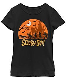 Big Girls Scooby Doo Scooby Haunt Short Sleeve T-shirt
