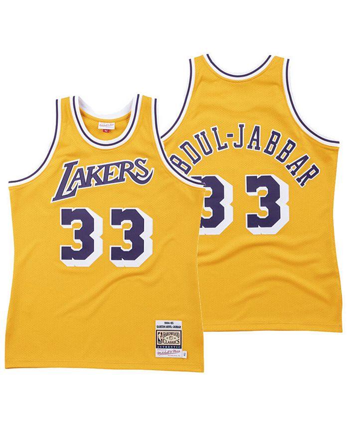 Mitchell & Ness Men's Kareem Abdul-Jabbar Los Angeles Lakers ...