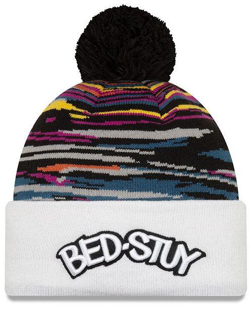 New Era Brooklyn Nets City Series Knit Hat