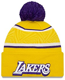 Los Angeles Lakers City Series Knit Hat