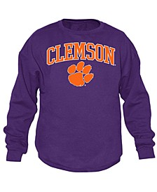 Men's Clemson Tigers Midsize Crew Neck Sweatshirt