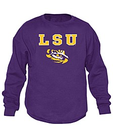 Men's LSU Tigers Midsize Crew Neck Sweatshirt