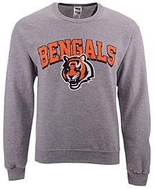 Men's Cincinnati Bengals Classic Crew Sweatshirt