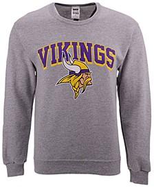 Men's Minnesota Vikings Classic Crew Sweatshirt