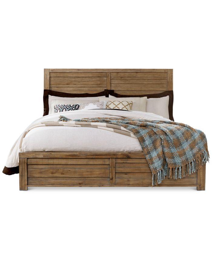 Furniture Soho California King Bed  & Reviews - Furniture - Macy's