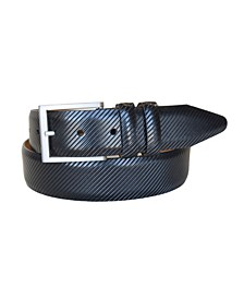 Men's The Beveled Edge Leather Italian Calfskin Dress Belt