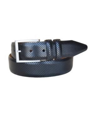 Men's The Beveled Edge Leather Italian Calfskin Dress Belt