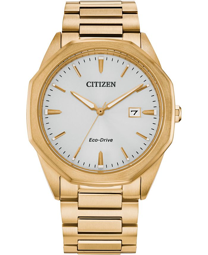 Citizen - Men's Corso Gold-Tone Stainless Steel Bracelet Watch 41mm