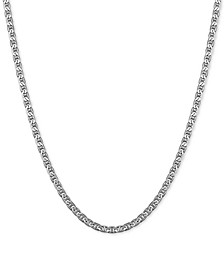 "Mariner Link 18"" Chain Necklace in Sterling Silver"