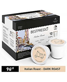 Coffee Italian Flavor Single Serve K-Cup, 96 Pods per Pack