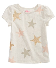 Little Girls Star-Print T-Shirt