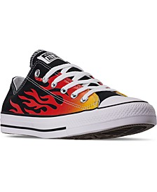Men's Chuck Taylor All Star Ox Low Top Casual Sneakers from Finish Line