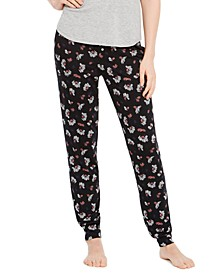 Printed Knit Jogger Pajama Pants, Created For Macy's
