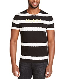 Men's Striped Logo T-Shirt