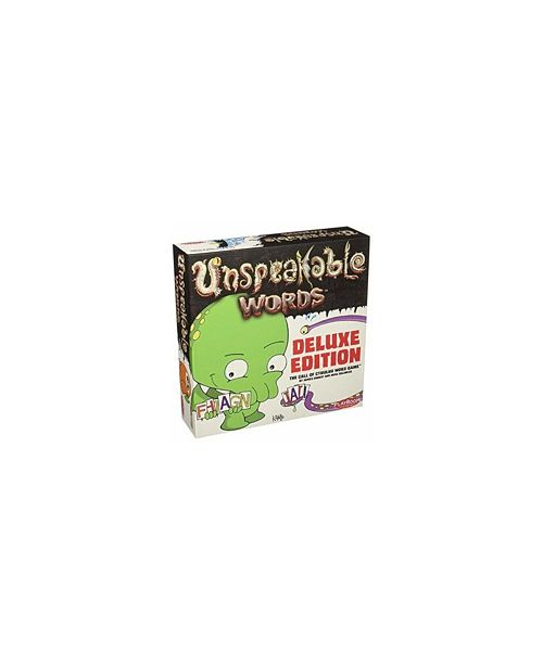 Playroom Entertainment Unspeakable Words Deluxe Party Game