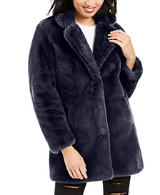 Eloise Faux-Fur Coat, Created for Macy's
