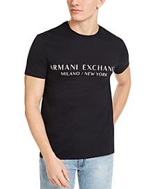 Men's Milano New York Logo Graphic T-Shirt