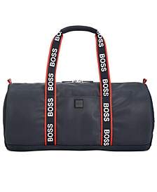 HUGO Men's Hyper Printed Duffel Bag