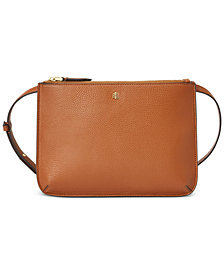 Lauren Ralph Lauren Faux Pebble Leather Carter Crossbody