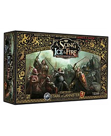 A Song Of Ice Fire: Tabletop Miniatures Game - Stark Vs Lannister Starter Set