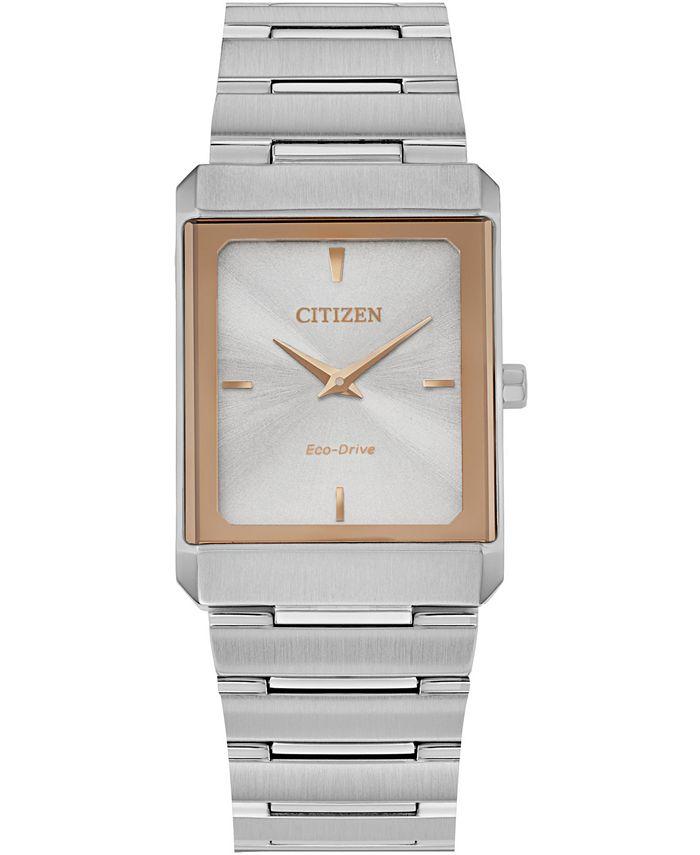 Citizen - Unisex Stiletto Stainless Steel Bracelet Watch 25x35mm