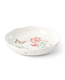 Butterfly Meadow Gold - 20th Anniversary Low Serve Bowl