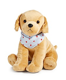 CLOSEOUT! Americana Patriotic Plush Golden Retriever, Created for Macy's