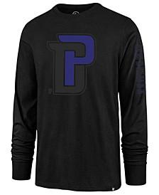 '47  Brand Men's Detroit Pistons Color Pop Super Rival Long Sleeve T-Shirt